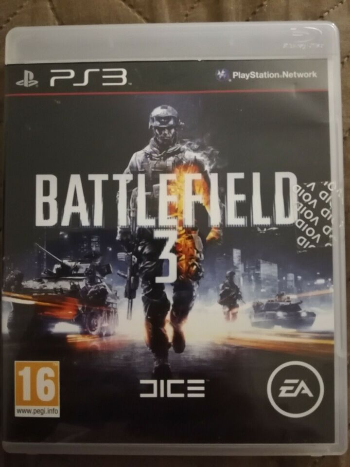 Battlefield 3, PS3, action