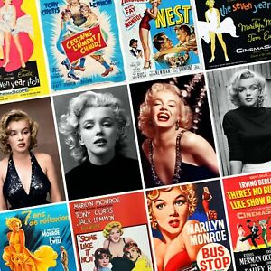 MARILYN-MONROE-Vintage-Movie-Posters-amp-Portraits-PHOTO-Print-POSTER-Actress-Art