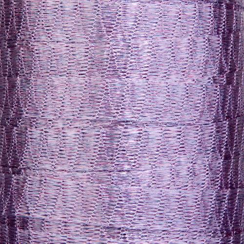1 mètre violet lilas métallique wire mesh ruban de Menoni Italie comme wirelace