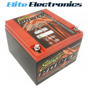 Stinger SPP950 Car Audio 950 Amp 1900 Watts 12V Dry Cell Battery
