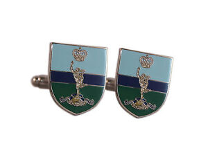 ROYAL-SIGNALS-JIMMY-ENAMEL-CUFFLINKS-CUFF-LINKS-BRAND-NEW-BOXED-IDEAL-PRESENT