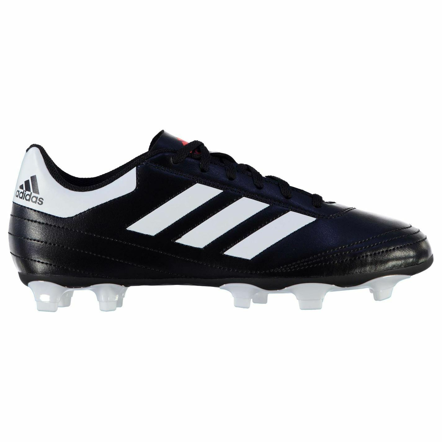 Adidas Goletto FG Firm Ground Football Boots Mens Blk Wht Soccer Cleats shoes