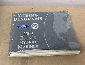 2009 FORD ESCAPE MERCURY MARINER HYBRID WIRING DIAGRAMS ...