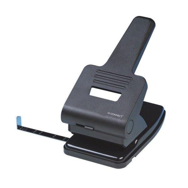 Q-CONNECT Locher silber u. schwarz KF01237 | Sonderpreis  | Neuartiges Design  | Haben Wir Lob Von Kunden Gewonnen