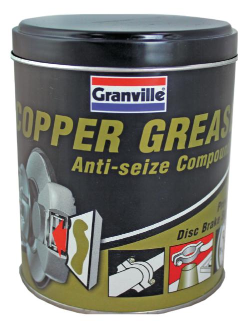 Granville Copper Grease Anti Seize Compound Prevents Disc Brake Squeal 500g  Tin