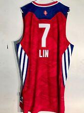 Adidas Swingman NBA Jersey Houston Rockets Jeremy Lin Red All-Star sz 2X 05751b8f8