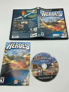 Sony PlayStation 2 PS2 CIB Complete Tested Heroes of the Pacific
