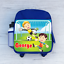 Childrens School Bag Personalised Football Goalkeeper Soccer Boys Kids Backpack