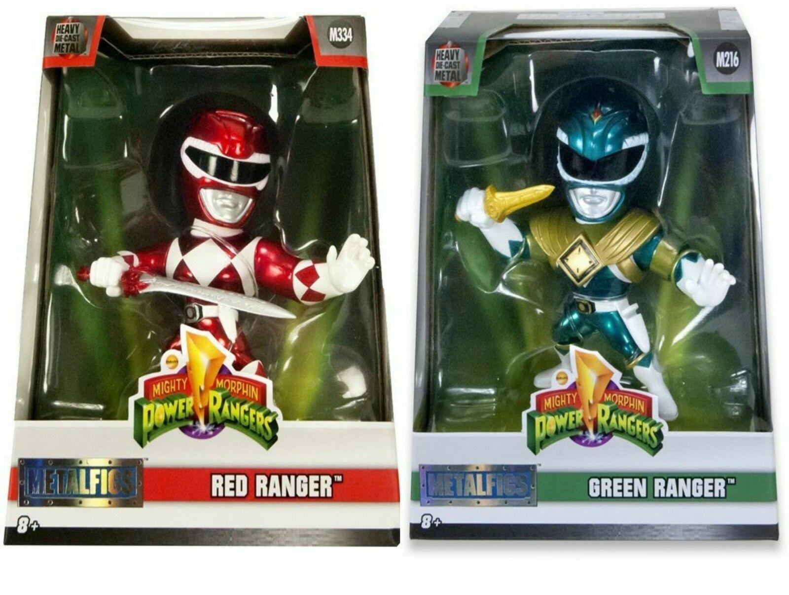 Mighty Morphin Power Rangers metales Coleccionable DIE-CAST figura Green Ranger