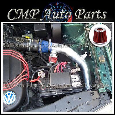 SPORT RAM AIR INTAKE KIT DRY FILTER FOR 98-05 VW Passat 2.8L V6