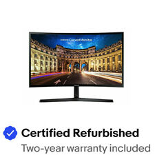 "Samsung LC27F396FHNXZA-RB 27"" Essential Curved Monitor - Certified Refurbished"