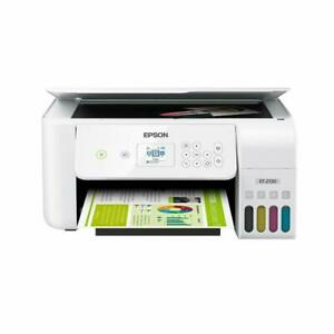 Epson ECOTANK ET-2720 Wireless All-In-One Supertank Color Printer - White