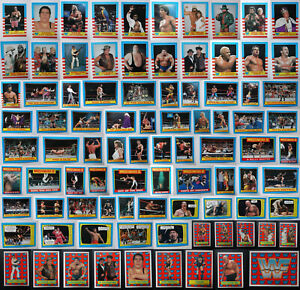 1987-Topps-WWF-WWE-Wrestling-Sticker-And-Trading-Cards-Complete-Your-Set-U-Pick