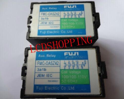 Used  FANUC FUJI AUX RELAY FMC-OASZ42 4A JEM IEC  DHL//FEDEX Ship