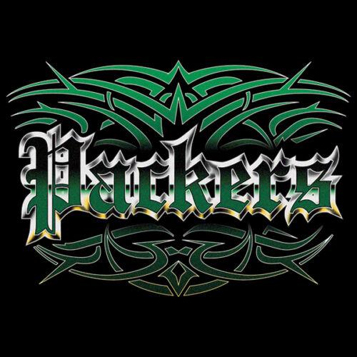 NEW Packers Tattoo Style Hoodie Hooded Sweatshirt Green Bay 4XL 5XL Blue Wave