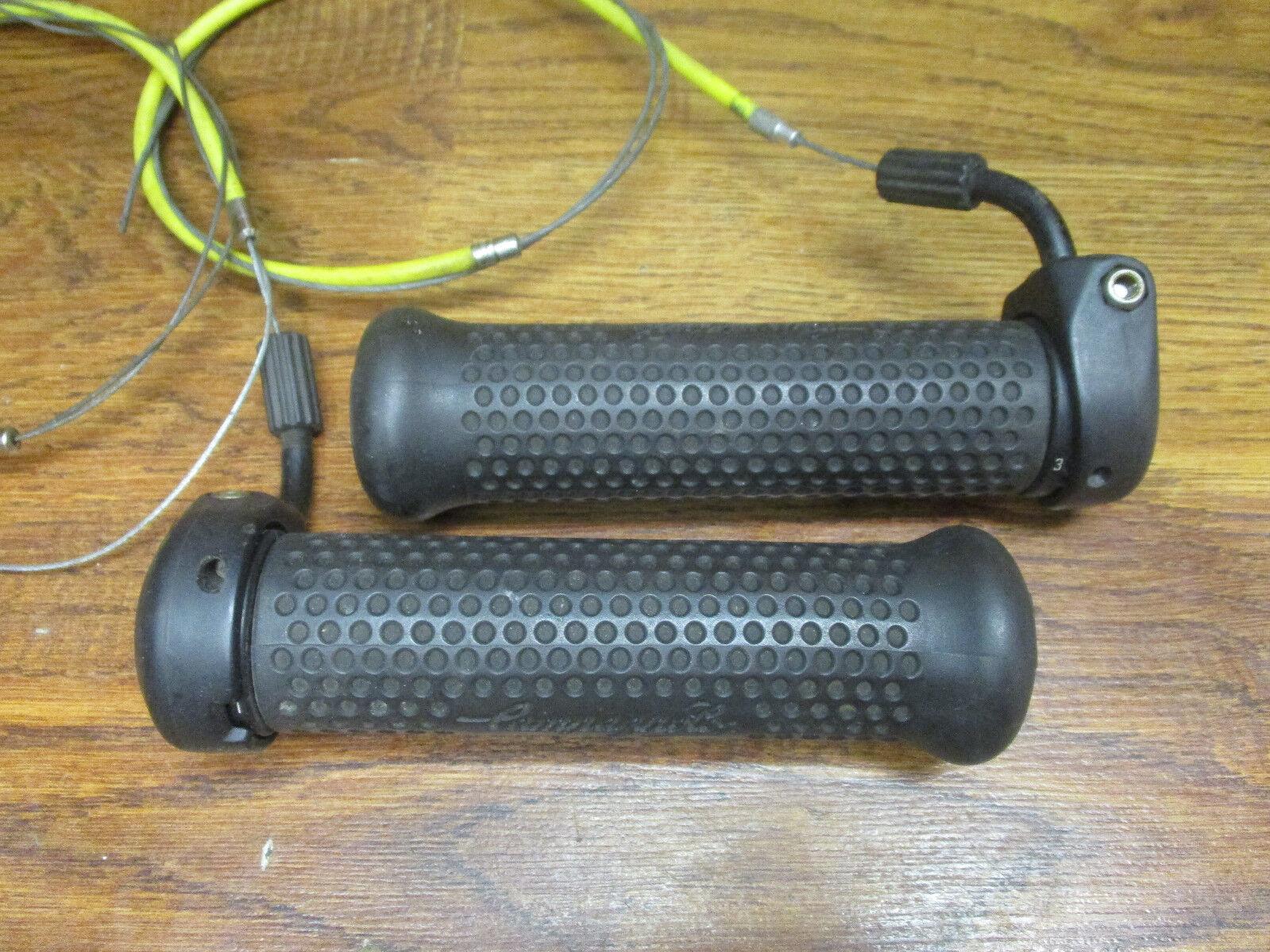 RARE CAMPAGNOLO BULLET 3 X 8 SPEED TRIPLE GRIP TWIST SHIFTER SET