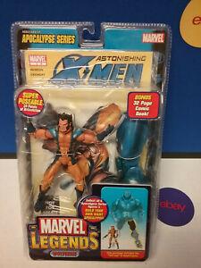 Marvel Legends Chase démasqué étonnante figure de Wolverine New Free Ship Us