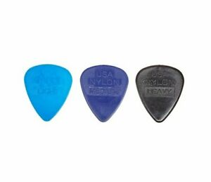 Ernie-Ball-Nylon-Picks-bag-of-12-or-50-Various-Sizes-Thin-Medium-or-Hard