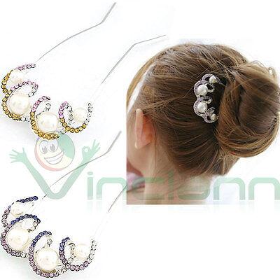 20 Forcine spilloni perle forcina fermaglio accessori capelli acconciatura sposa