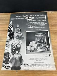 1972-VINTAGE-8X11-TOY-INDUSTRY-PRINT-Ad-FOR-AVALON-CANDLE-SOAP-MAKING-CRAFT-KITS