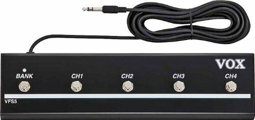 Heavy Duty 4 Channel 1 Bank Button Footswitches Works with VT Series Amps