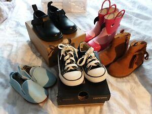 Baby Girl Bundle Shoes Size UK 6 Boots