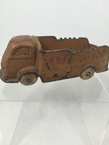 Vintage-Auburn-Rubber-Corporation-USA-Brown-Truck