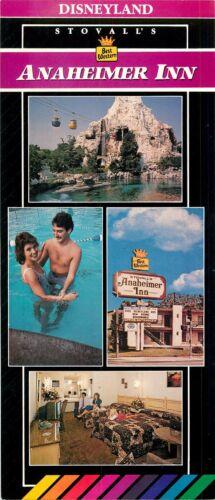 1980/'s Annaheimer Inn Best Western Hotel Stovall/'s Disneyland Brochure 1970/'s