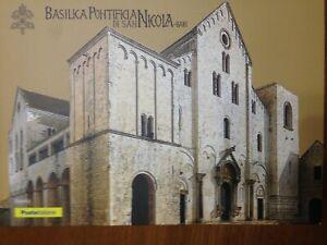 FOLDER-BASILICA-PONTIFICIA-DI-SAN-NICOLA-BARI-EMESSO-POSTE-ITALIANE-2017