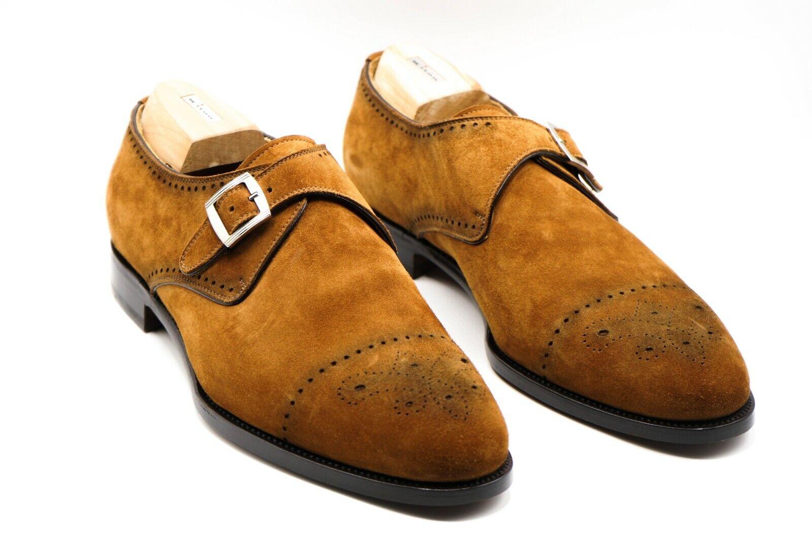 NEW KITON Napoli Dress Leather Shoes Size Eu 43.5 Uk 9.5 Us 10.5 (KIS43)