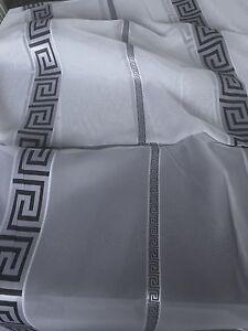 Gardinen Stoffe Stores Vorhangstoffe mit Versace Määnder Medusa