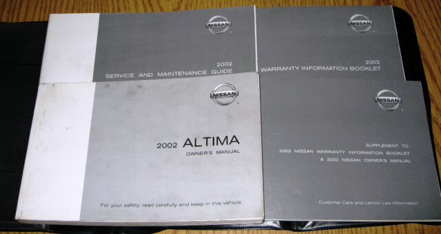 2006 Nissan Altima Owner U0026 39 S Manual Manual Guide