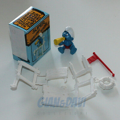 Puffo Puffi Smurf Smurfs Schtroumpf 4.0242 40242 Lifeguard Bagnino New Box 5a Il Consumo Regolare Di Tè Migliora La Salute