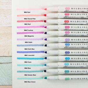 Zebra-Mildliner-Double-Sided-Highlighter-Pen-25-Colors