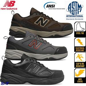 986789039df Details about New Balance boots Steel Toe Slip Resistant Work shoes  Electrostatic boot