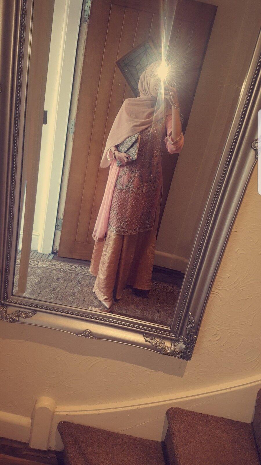 Indiano Pakistano Da Matrimonio Suit Lengha Bollywood Bollywood Bollywood Kameez Gonna Abito cucite c40428