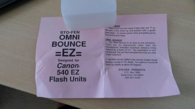 Stofen OM-MZ6 Softie Diffuser Sto-Fen Omni-Bounce For Sony HVL-F56AM Flash