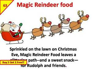 63 Reno alimentos Navidad Navidad calcomanías Etiquetas De Alta Calidad Fete justo caridad