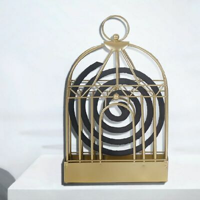 Retro Old Mosquito Incense Rack Wrought-Iron Portable Anti Slip Home Decor Gifts