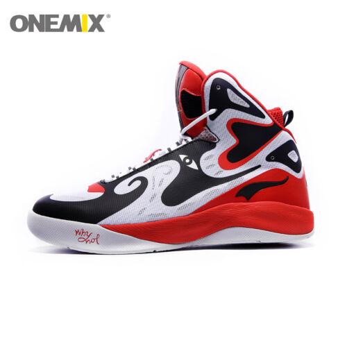ONEMIX Men/'s Unique Fashion Design Sport  Sneakers High-Top Basketball Shoes
