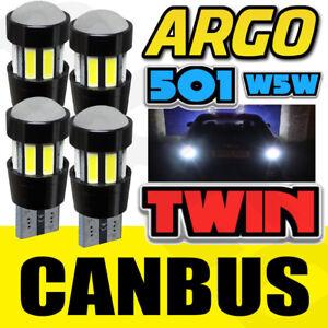 Proyector-4x-501-LED-SMD-CANBUS-CREE-Super-Brillante-Blanco-T10-W5w-Bombillas-de-reflexion
