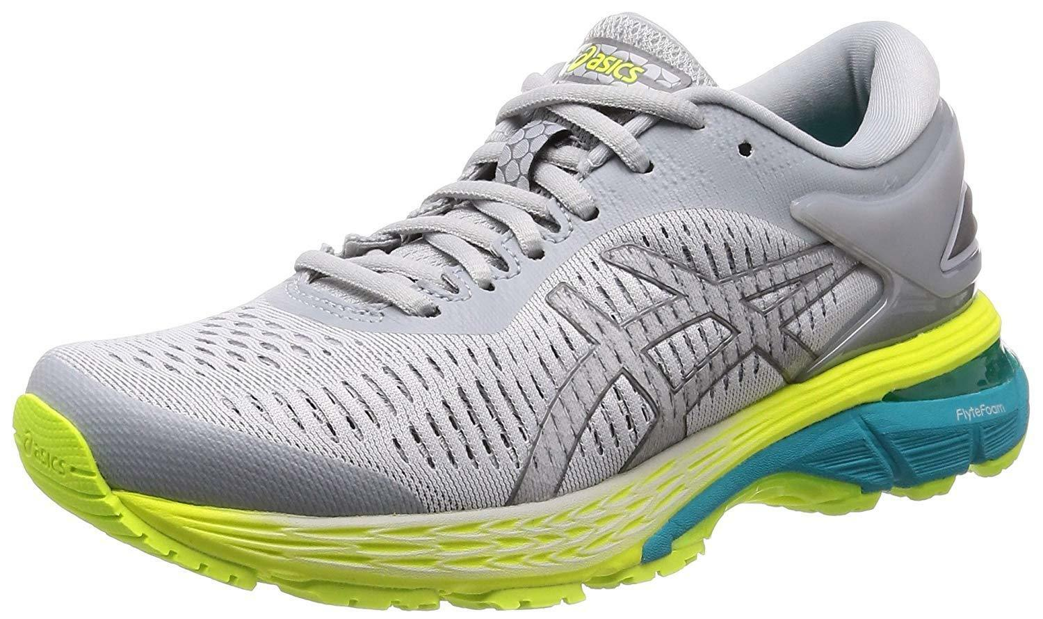 ASICS Running Schuhes LADY GEL-KAYANO 25 1012A026 Mid grau Carbon US8(25cm)