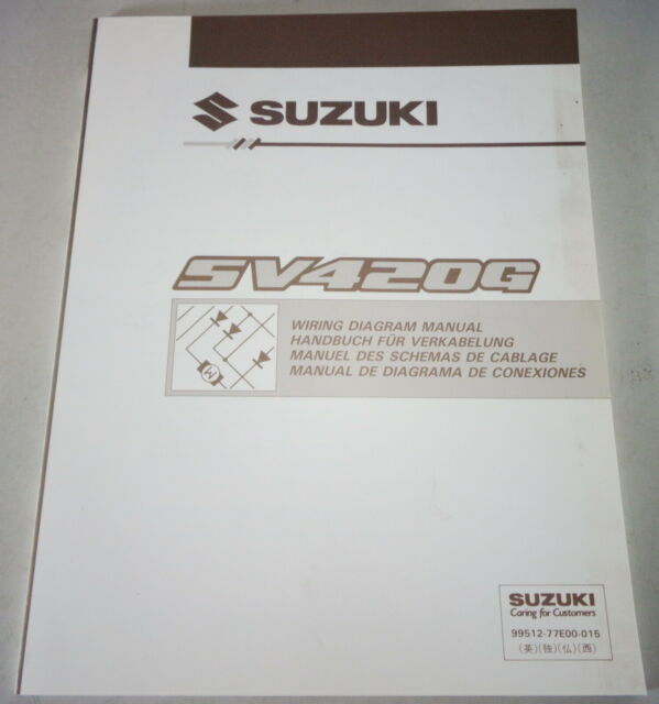 Workshop Manual Electric  Schematics Suzuki Grand Vitara