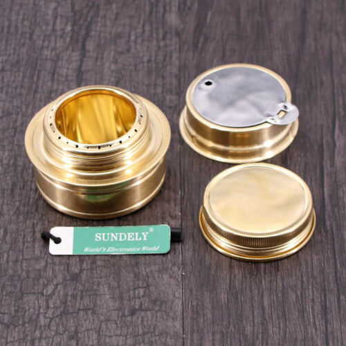 NEW Mini Outdoor Camping Alcohol Wood Picnic Stove Burner Furnace Cooker Green