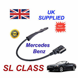 Mercedes-Clase-SL-2009-Integrado-Bluetooth-Musica-modulo-para-iphone-htc-nokia