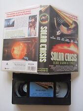 Solar Crisis d'Alan Smithee avec Charlton Heston, VHS, SF, RARE INEDIT DVD!!