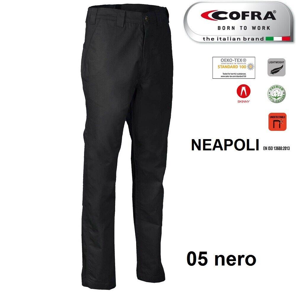 Immagine 10 - Pantaloni da lavoro COFRA modello NEAPOLI edilizia industria logist 100% cotone