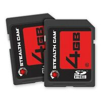 Stealth Cam 4gb Memory Card 2 Pack Model: Stc-2sd4gb