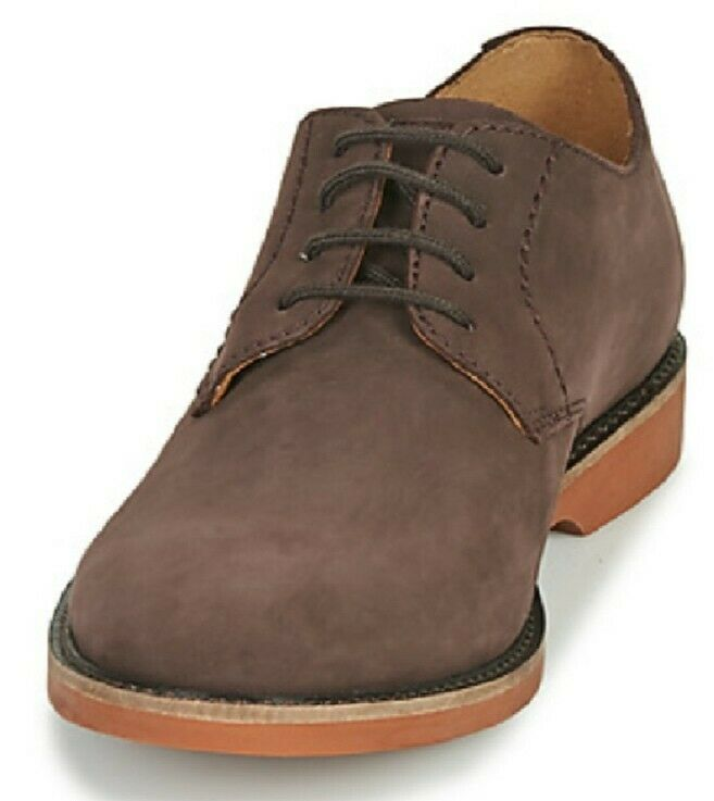 Clarks Men Shoes Atticus Vibe Suede UK size 10G New With Box
