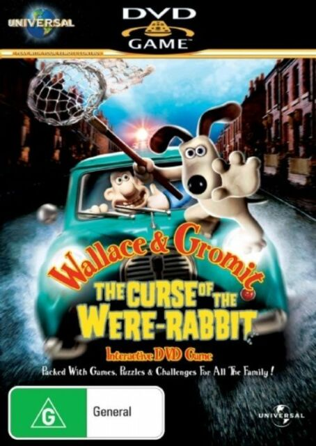 Wallace And Gromit - The Curse Of The Were-Rabbit Interactive DVD Game g315